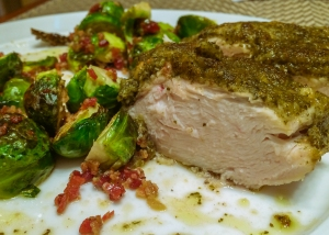 Italian Chicken & Brussels Sprouts